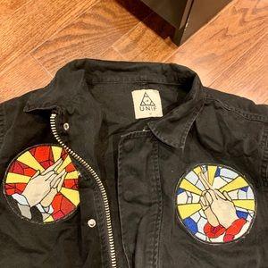Unif black Cargo jacket